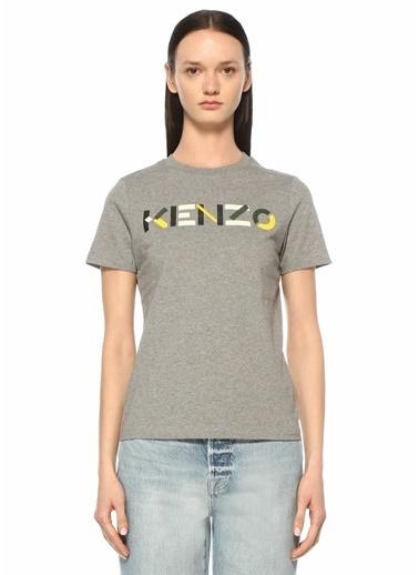Kenzo Polo Yaka T-shirt Gri